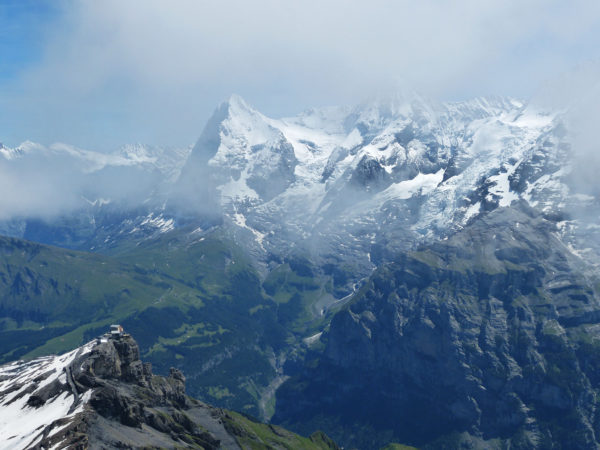 Schilthorn summit view