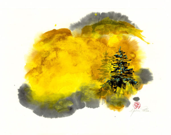 Autumn Forest - Yvonne Palka