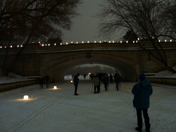 Luminary Loppet trails