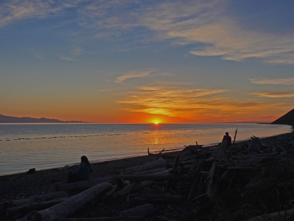 Sunset at Ebey's Landing