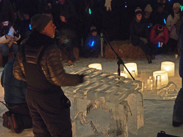 Luminary Loppet ice orchestra