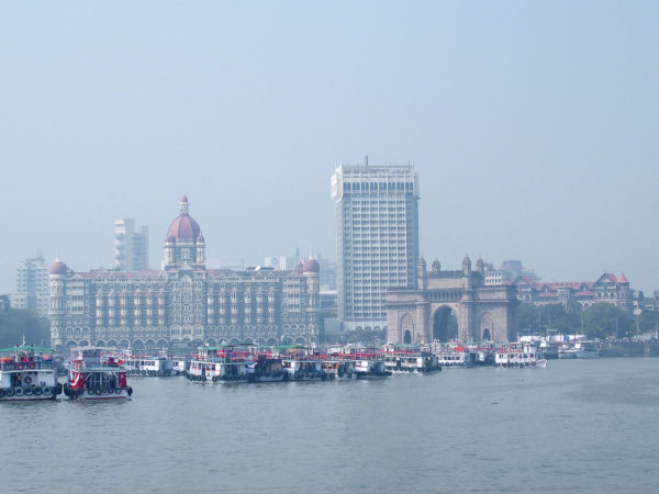 Mumbai from harbor